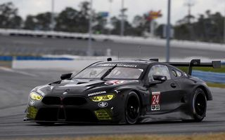BMW continuă testele cu M8 GTE: modelul bavarezilor și-a încordat mușchii pe circuitul de la Daytona