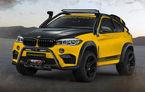Manhart MHX6 Dirt²: un BMW X6 M cu 900 de cai putere, 1.200 Nm și modificări gândite pentru off-road