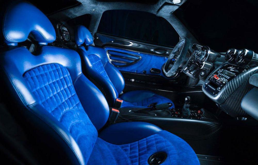 Pagani Zonda Riviera: singurul model produs vreodată a fost scos la vânzare de un dealer din Arabia Saudită - Poza 4