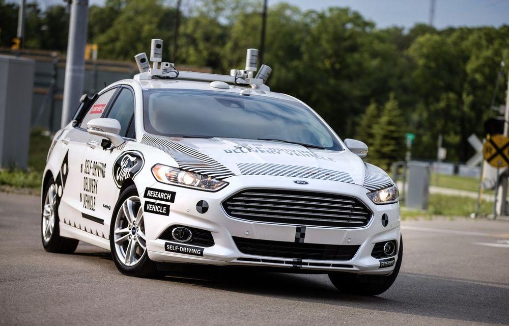 """Planuri de viitor: Ford vrea să dezvolte o mașină """"complet nouă"""" pentru condusul autonom - Poza 1"""