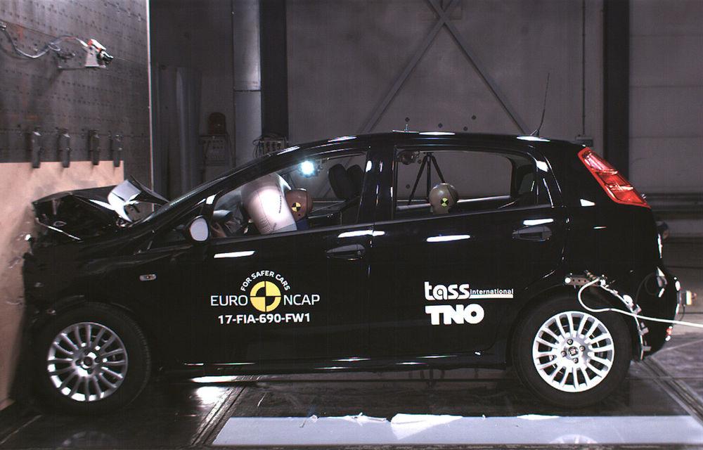 Surprize mari la Euro NCAP: au fost retestate modele mai vechi aflate în vânzare. Fiat Punto, primul model din istorie cu zero stele - Poza 1