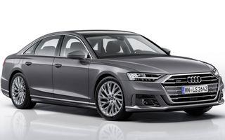 Modificări minore: Audi a pregătit un pachet exterior pentru noua generație A8