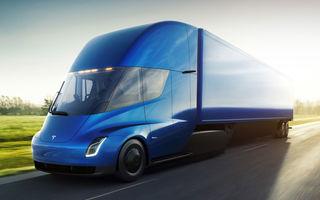Nu știm când apare, dar are deja clienți: capul tractor Tesla Semi a primit aproape 300 de comenzi