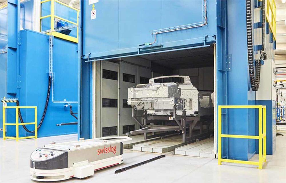 Alpine A110 a intrat pe linia de producție: sportiva de 252 CP este asamblată în cadrul uzinei din Dieppe - Poza 9