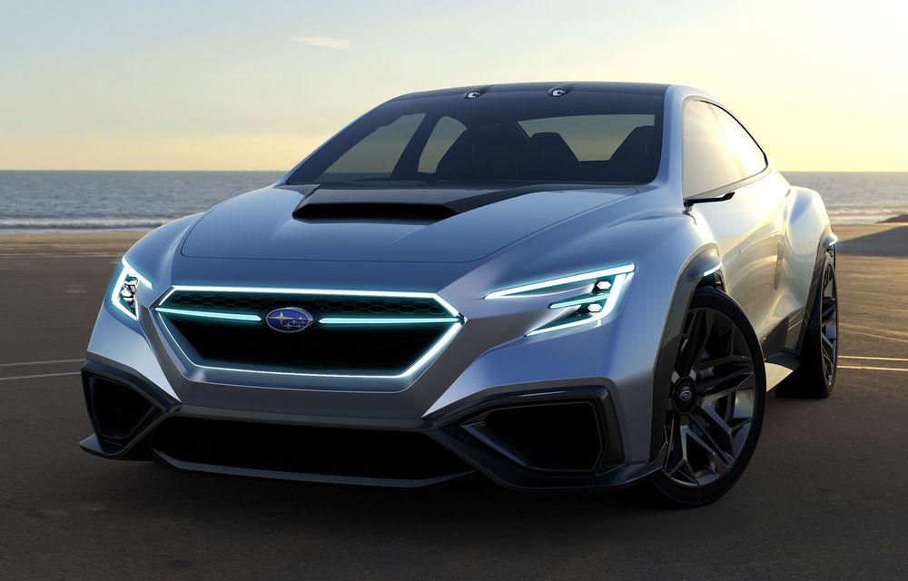 Subaru WRX: noua generație va veni din 2020 cu propulsie electrică sau hibridă - Poza 1
