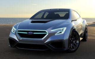 Subaru WRX: noua generație va veni din 2020 cu propulsie electrică sau hibridă