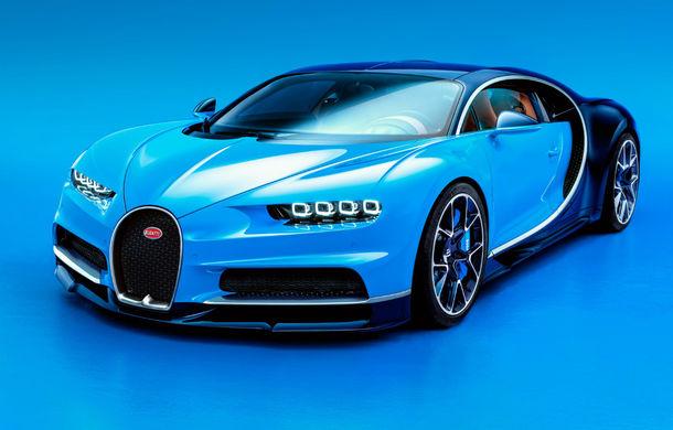 Țintă atinsă: Bugatti Chiron a ajuns la 70 de clienți în 2017 - Poza 1