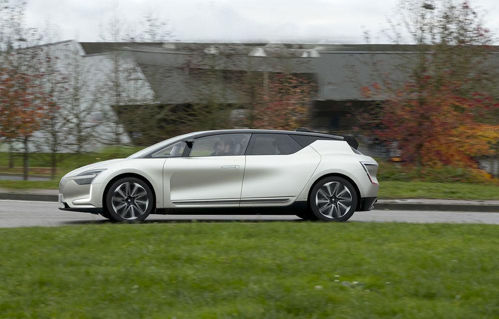 Ziua în care am călătorit în viitor: test în trafic real cu prototipul autonom Renault Symbioz - Poza 76