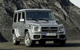 Oficial: noul Mercedes Clasa G va fi prezentat pe 15 ianuarie, la Detroit