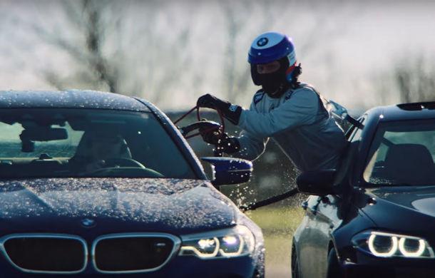 Record mondial pentru cel mai lung drift: un BMW M5 a parcurs 374 de kilometri și a fost alimentat în timpul derapajului controlat - Poza 1