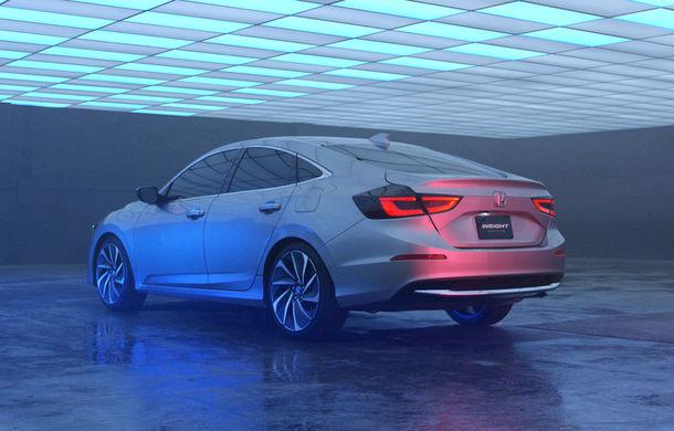 Atac la Prius și Ioniq: hibridul Honda Insight va fi resuscitat în 2018 într-o formă mult îmbunătățită - Poza 8