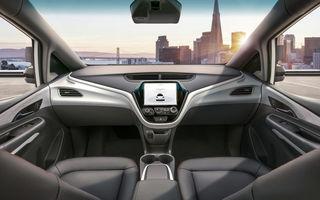 General Motors vrea să lanseze servicii de tip Uber cu mașini fără pedale și volan: modelele Chevrolet Bolt modificate ar putea circula pe drumurile publice din 2019