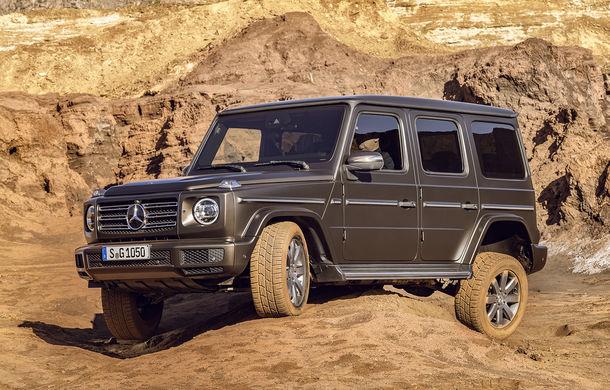 Noua generație Mercedes-Benz Clasa G: dimensiuni mai mari, exterior revizuit și performanțe mai bune în off-road - Poza 1