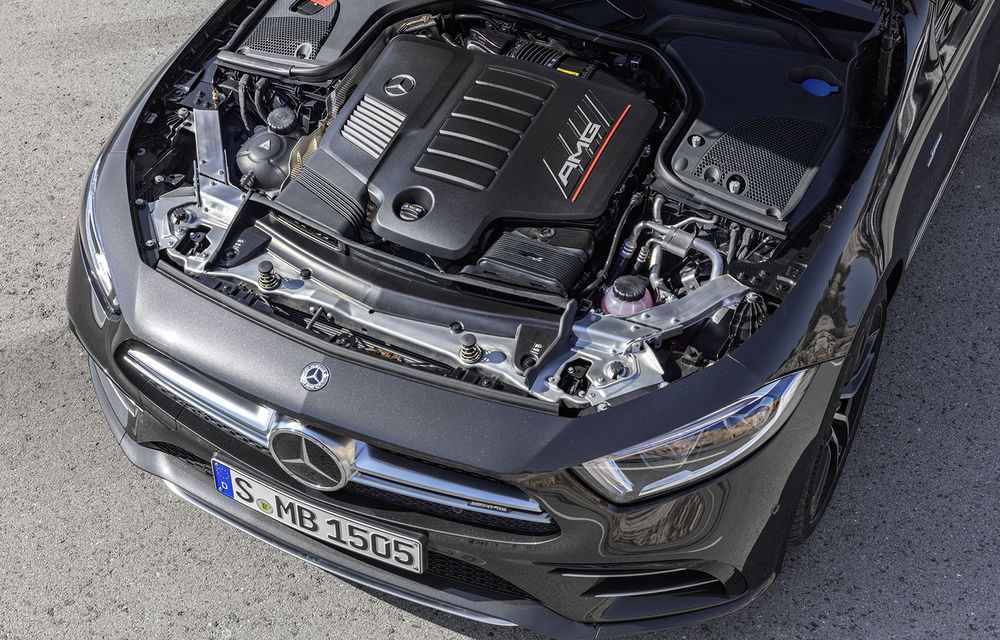 Un nou membru în familia Mercedes-AMG: nemții lansează seria 53 AMG cu 435 CP și sistem micro-hibrid pentru CLS, Clasa E Coupe și Clasa E Cabriolet - Poza 19