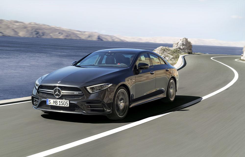 Un nou membru în familia Mercedes-AMG: nemții lansează seria 53 AMG cu 435 CP și sistem micro-hibrid pentru CLS, Clasa E Coupe și Clasa E Cabriolet - Poza 1
