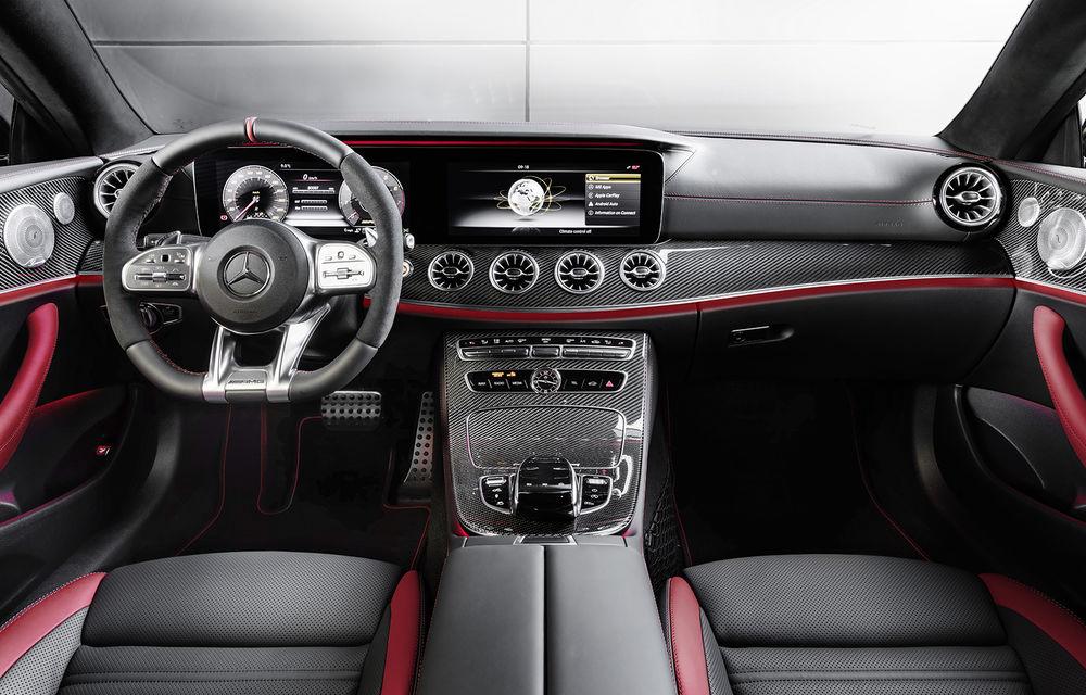 Un nou membru în familia Mercedes-AMG: nemții lansează seria 53 AMG cu 435 CP și sistem micro-hibrid pentru CLS, Clasa E Coupe și Clasa E Cabriolet - Poza 31