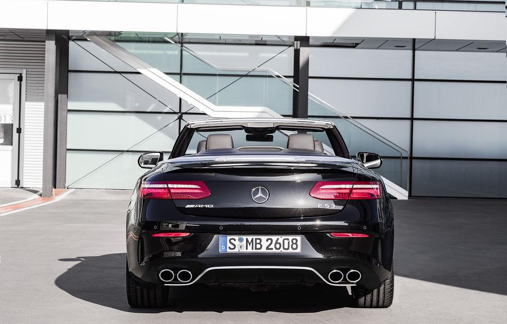 Un nou membru în familia Mercedes-AMG: nemții lansează seria 53 AMG cu 435 CP și sistem micro-hibrid pentru CLS, Clasa E Coupe și Clasa E Cabriolet - Poza 41