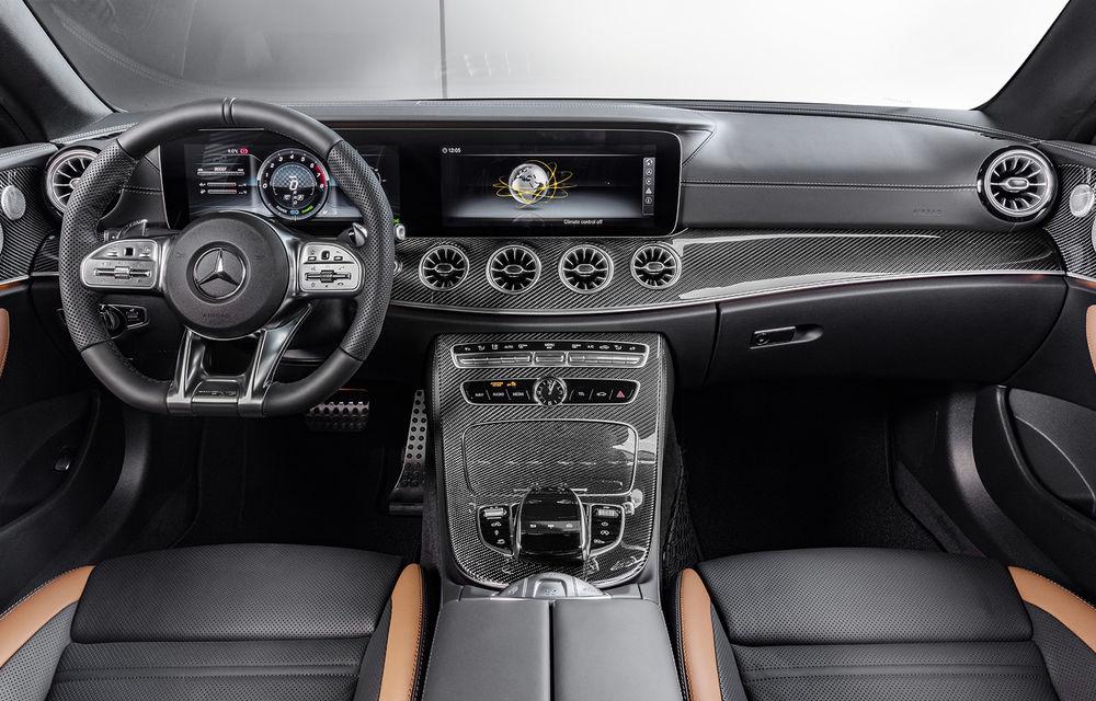 Un nou membru în familia Mercedes-AMG: nemții lansează seria 53 AMG cu 435 CP și sistem micro-hibrid pentru CLS, Clasa E Coupe și Clasa E Cabriolet - Poza 46