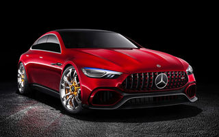 Noul Mercedes AMG GT va fi dezvăluit în martie la Geneva: propulsie hibridă cu putere totală de 816 CP