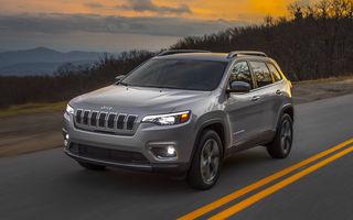 Jeep Cherokee facelift: SUV-ul primește îmbunătățiri stilistice și un nou motor turbo de 2.0 litri și 270 de cai putere
