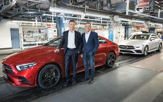 Noua generație Mercedes-Benz CLS a intrat în producție: modelul constructorului german este asamblat la uzina din Sindelfingen