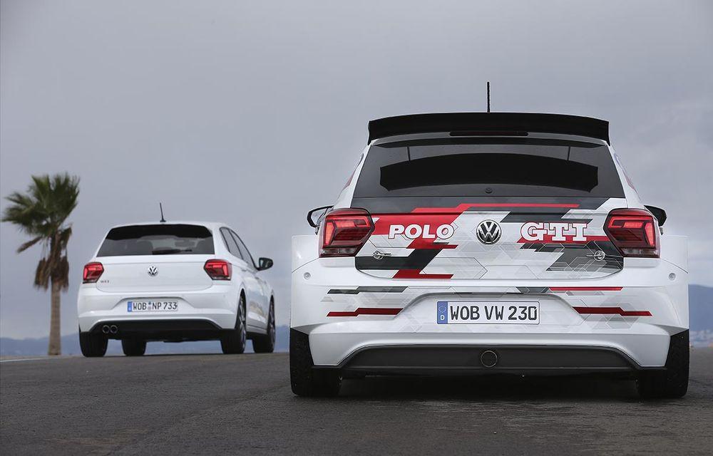 Volkswagen a primit comenzi pentru 15 exemplare Polo GTI R5: modelul dedicat raliurilor are 272 CP, tracțiune integrală și îl vom vedea în acțiune în a doua jumătate a anului - Poza 5