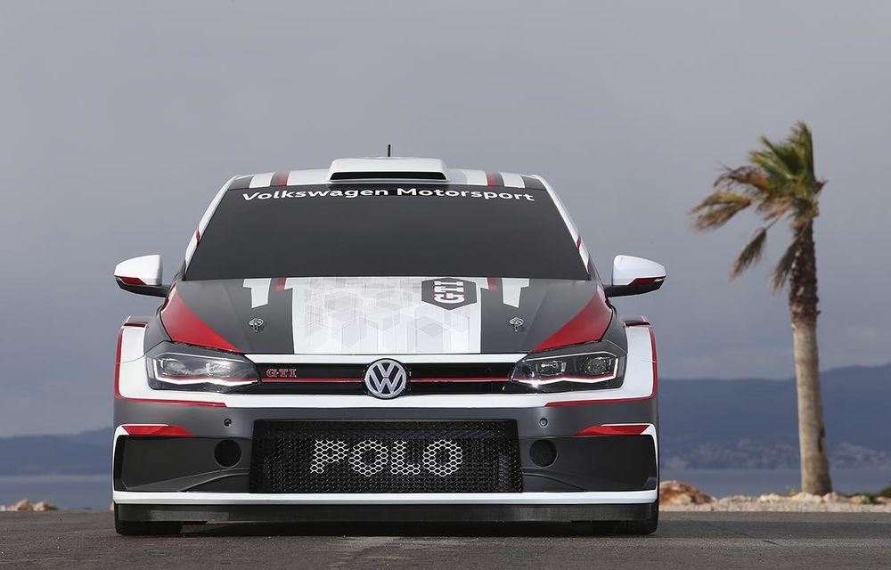 Volkswagen a primit comenzi pentru 15 exemplare Polo GTI R5: modelul dedicat raliurilor are 272 CP, tracțiune integrală și îl vom vedea în acțiune în a doua jumătate a anului - Poza 3