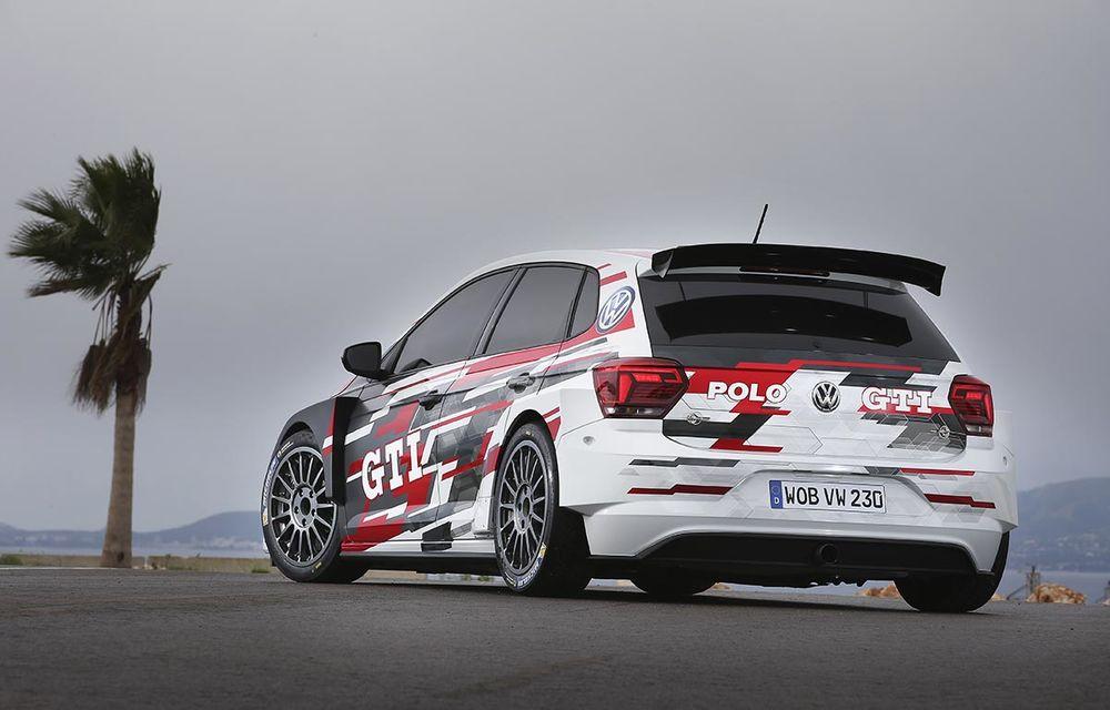Volkswagen a primit comenzi pentru 15 exemplare Polo GTI R5: modelul dedicat raliurilor are 272 CP, tracțiune integrală și îl vom vedea în acțiune în a doua jumătate a anului - Poza 4