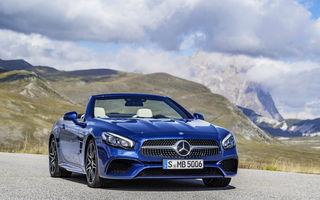 Următoarea generație Mercedes SL ar putea fi dezvoltată sub brandul AMG: lansarea este programată pentru 2021