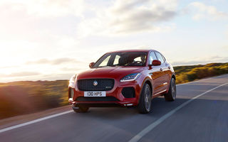 Prețuri pentru piața din România: noul SUV Jaguar E-Pace pleacă de la 30.900 de euro