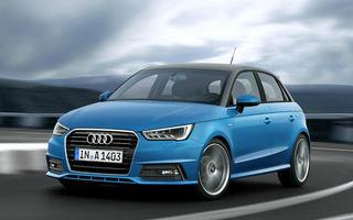 Audi A1 Sportback, SQ2 și Q3 vor primi actualizări în 2018: cele 3 modele se alătură noii generații A6 și noului Q8