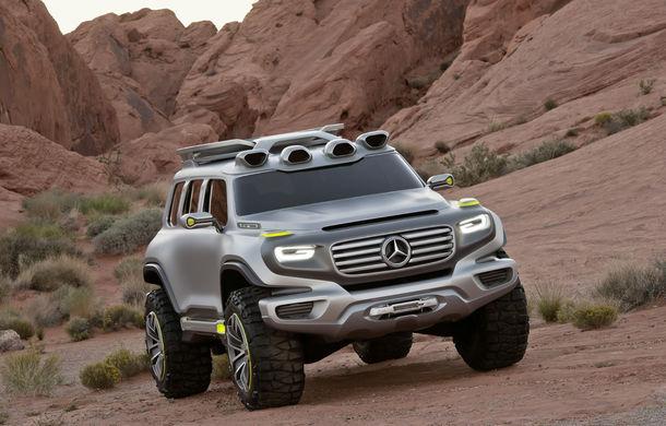 Mercedes-Benz GLB a fost surprins în timpul testelor: noul SUV compact ar urma să debuteze în 2019 - Poza 1