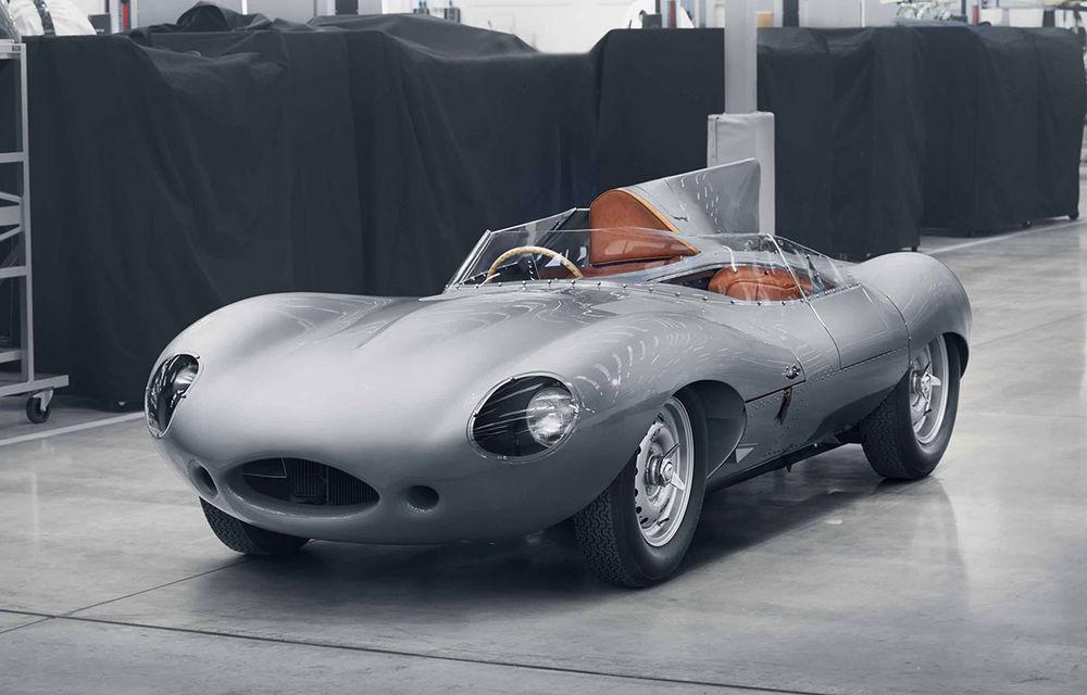 Clasice reîncărcate: Jaguar va construi după specificațiile originale 25 de exemplare ale legendarului D-Type - Poza 3