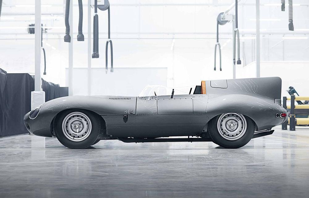 Clasice reîncărcate: Jaguar va construi după specificațiile originale 25 de exemplare ale legendarului D-Type - Poza 2