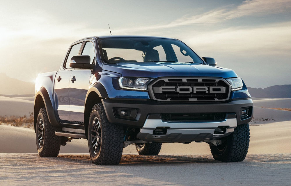 """Ford Ranger Raptor: look impozant și motor diesel de 213 CP și 500 Nm, dar """"interzis"""" europenilor - Poza 1"""