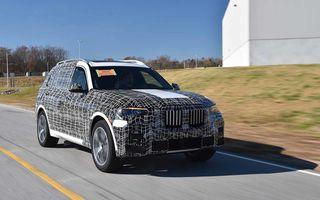 Varianta de serie a lui BMW X7 va fi prezentată oficial în luna noiembrie: debutul noului SUV este programat pentru Salonul Auto de la Los Angeles