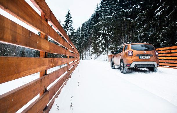 Cu noul Duster în creierii munților: blestemul navigației, pierduți prin zăpadă și căldura de la Casa Răzeșilor - Poza 52