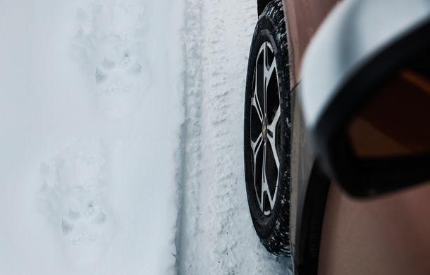 Cu noul Duster în creierii munților: blestemul navigației, pierduți prin zăpadă și căldura de la Casa Răzeșilor - Poza 48