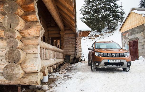 Cu noul Duster în creierii munților: blestemul navigației, pierduți prin zăpadă și căldura de la Casa Răzeșilor - Poza 24