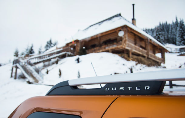 Cu noul Duster în creierii munților: blestemul navigației, pierduți prin zăpadă și căldura de la Casa Răzeșilor - Poza 19