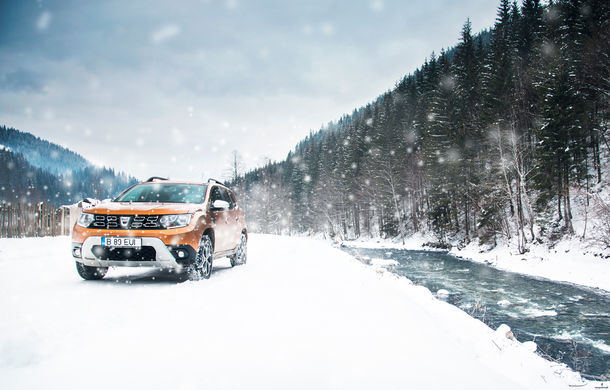 Cu noul Duster în creierii munților: blestemul navigației, pierduți prin zăpadă și căldura de la Casa Răzeșilor - Poza 46