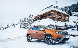 Cu noul Duster în creierii munților: blestemul navigației, pierduți prin zăpadă și căldura de la Casa Răzeșilor
