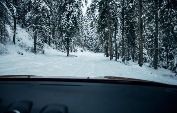 Cu noul Duster în creierii munților: blestemul navigației, pierduți prin zăpadă și căldura de la Casa Răzeșilor - Poza 11