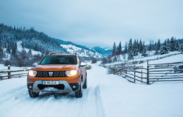 Cu noul Duster în creierii munților: blestemul navigației, pierduți prin zăpadă și căldura de la Casa Răzeșilor - Poza 14