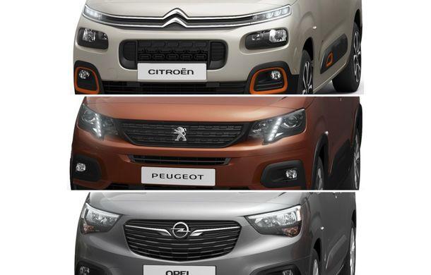 Generație nouă pentru Peugeot Partner, Citroen Berlingo și Opel Combo: producția celor trei utilitare din grupul PSA va începe în câteva săptămâni - Poza 1