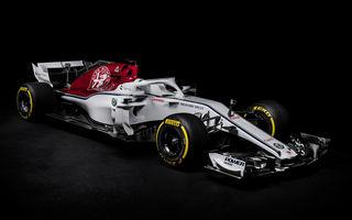Sauber prezintă noul monopost pentru 2018: un nou concept aerodinamic sub sigla Alfa Romeo