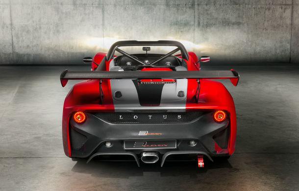 Lotus 3-Eleven 430: sportiva britanică de 430 CP și 920 kg va fi produsă în doar 20 de exemplare - Poza 2