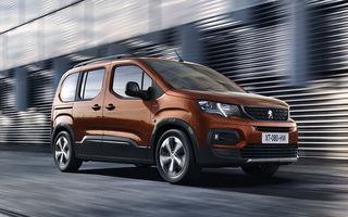 Peugeot Rifter: urmașul direct al lui Partner Tepee se inspiră masiv din lumea SUV-urilor