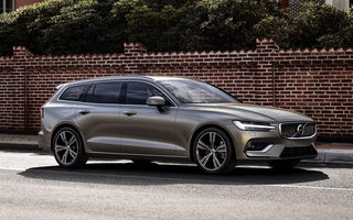 Volvo V60 se prezintă oficial: al doilea break al gamei moderne Volvo oferă două motorizări hibride plug-in