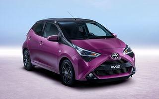 Toyota Aygo facelift: modelul de oraș primește un motor de 1.0 litri și 72 de cai putere și mici modificări de design